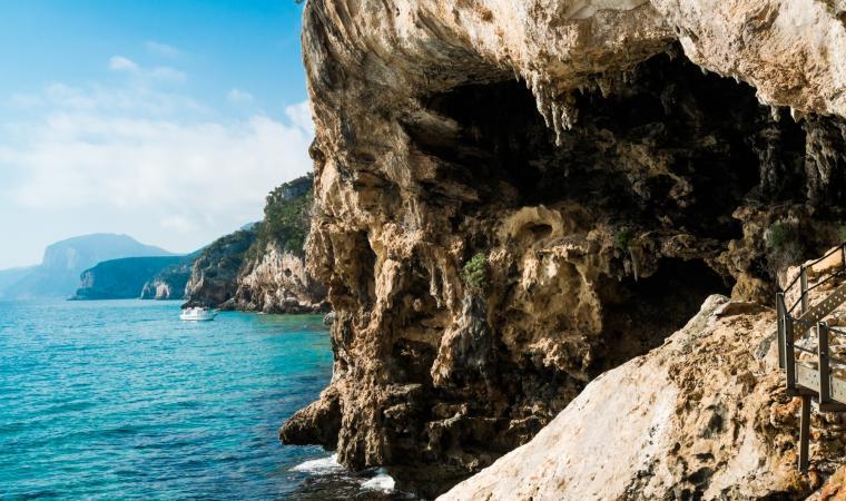 Grotte del Bue Marino, ingresso - Dorgali/Cala Gonone