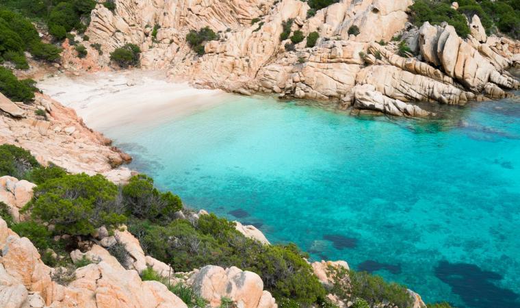 Cala Coticcio, Isola di Caprera - La Maddalena