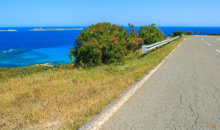 Strada panoramica - Costa rei