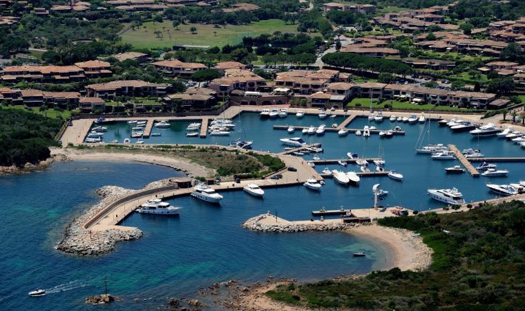Marina di Puntaldìa, panoramica dall'alto - San Teodoro