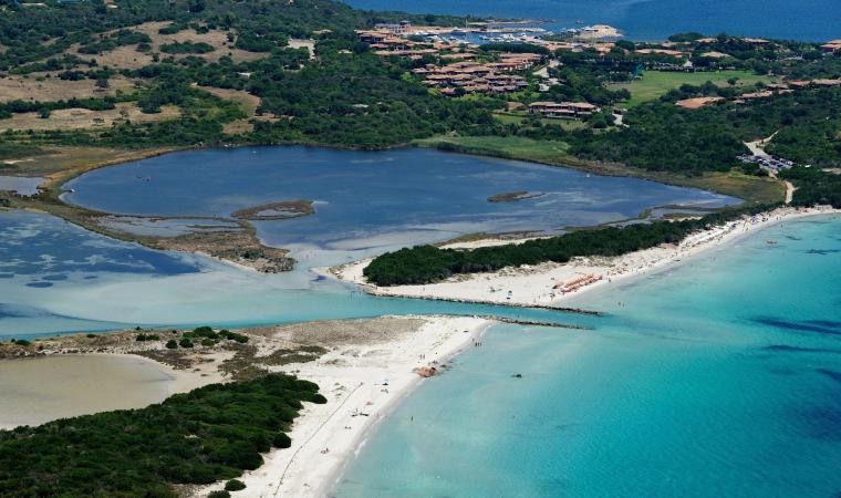 La Cinta, panoramica dall'alto - San Teodoro