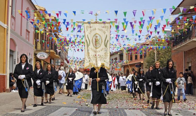 Sant'Efisio processione - Pula
