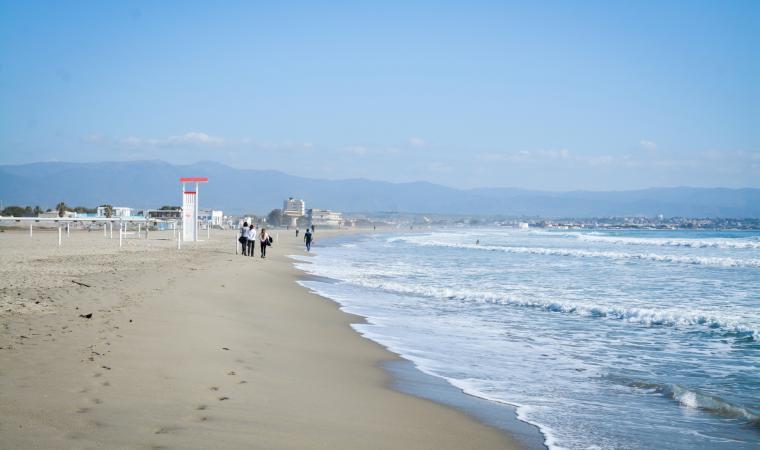 Spiaggia del Poetto, d'inverno - Cagliari
