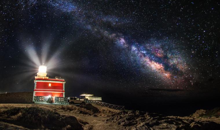 Capo Spartivento - Faro in notturna - Chia