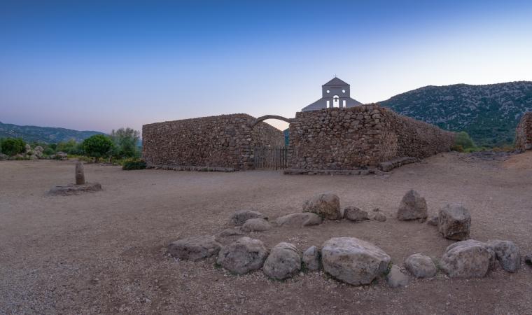 Il Golgo di Baunei, chiesetta campestre San Pietro al Golgo