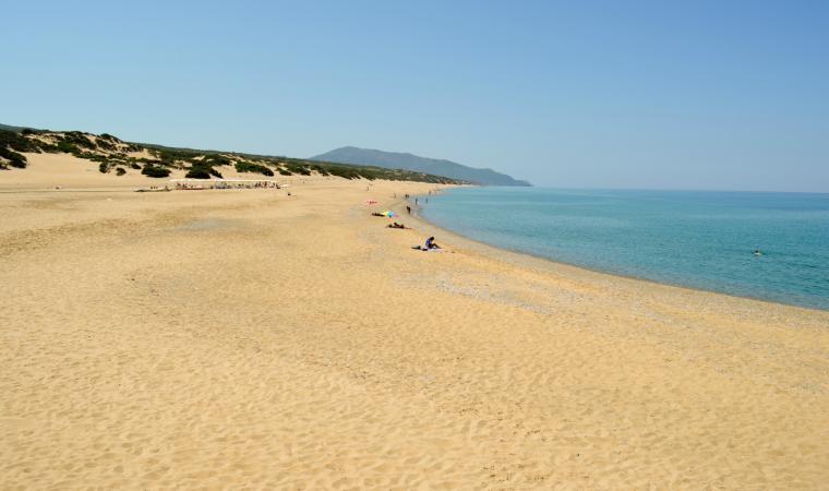Spiaggia di Piscinas, veduta - Costa Verde