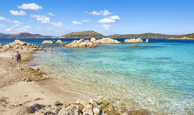 Isola di Caprera, spiaggia - La Maddalena