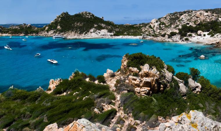 Cala Corsara - Isola di Spargi - La Maddalena