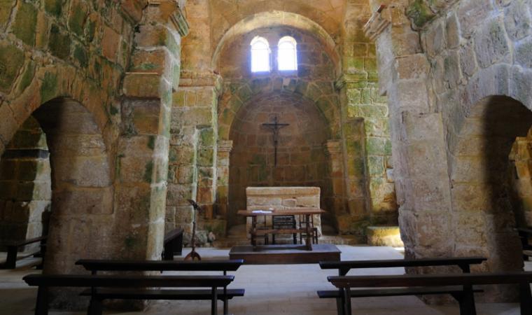 San Giovanni di Sinis, interno  - Cabras