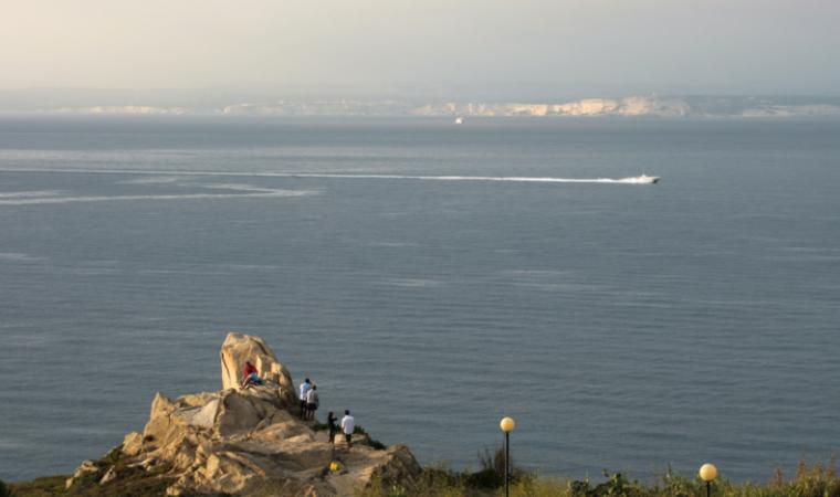 Veduta della Corsica - Santa Teresa Gallura