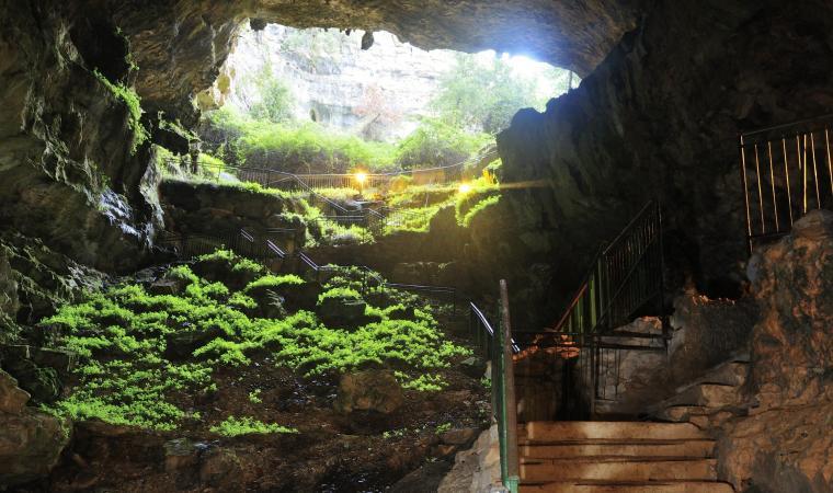 Grotta Su Marmuri, ingresso