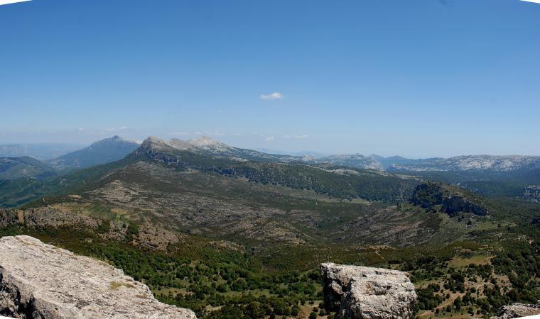Monte Novo san Giovanni, vista