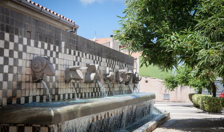 Fontana dello zodiaco - Tinnura