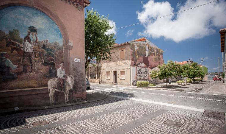 Centro storico - Tinnura