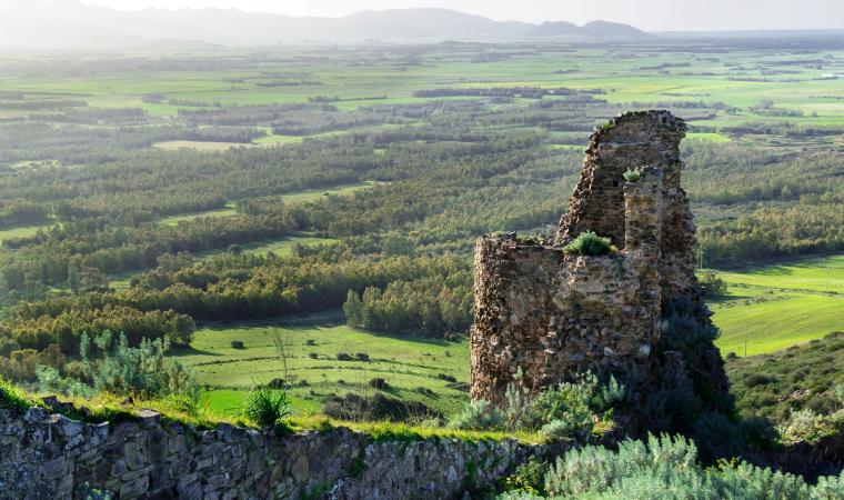 Torre del castello di Monreale - Sardara