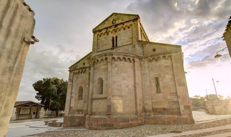 Chiesa di santa Maria, abside - Tratalias