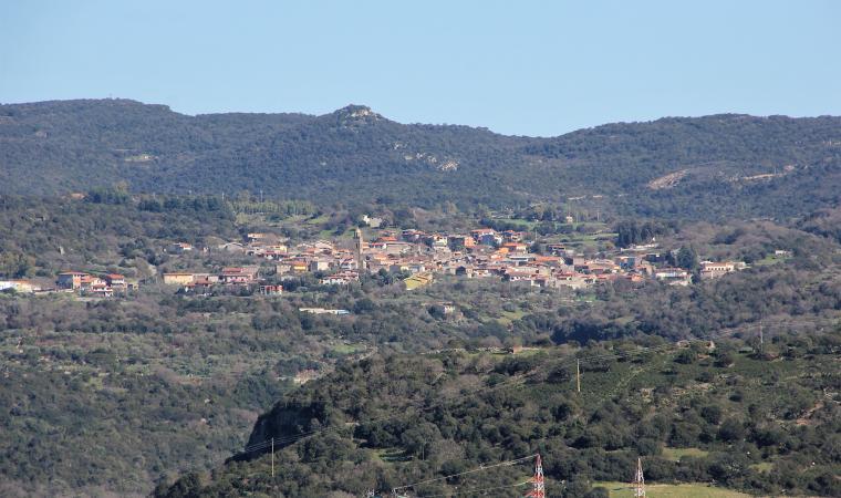 Veduta di Ulà Tirso
