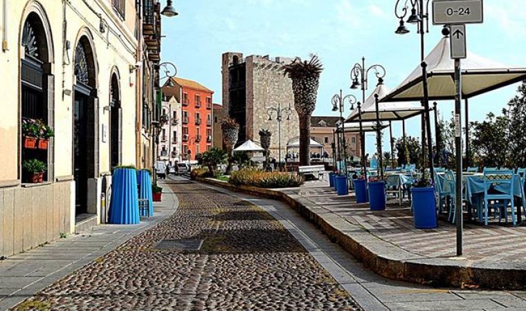 Via Santa Croce - Cagliari