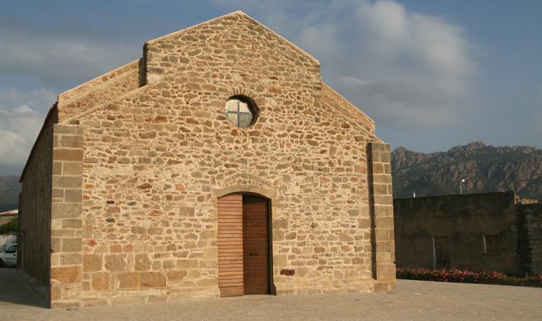 Chiesa di san Giovanni evangelista, facciata  - Viddalba