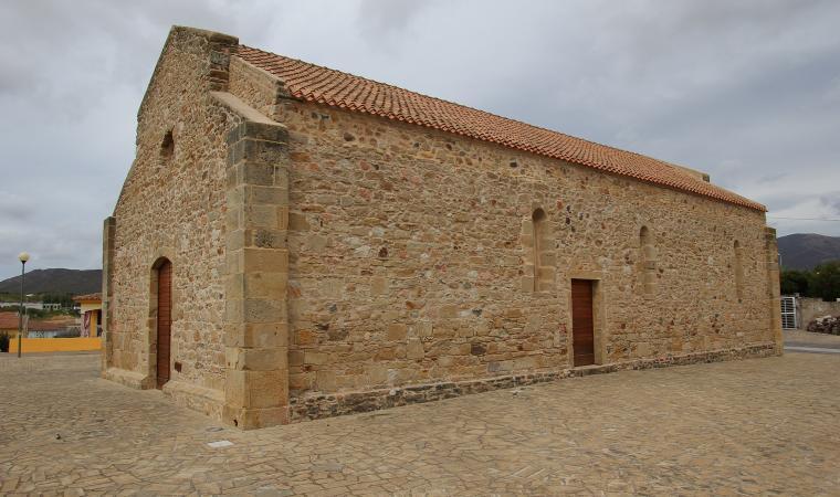 Chiesa di san Giovanni evangelista - Viddalba