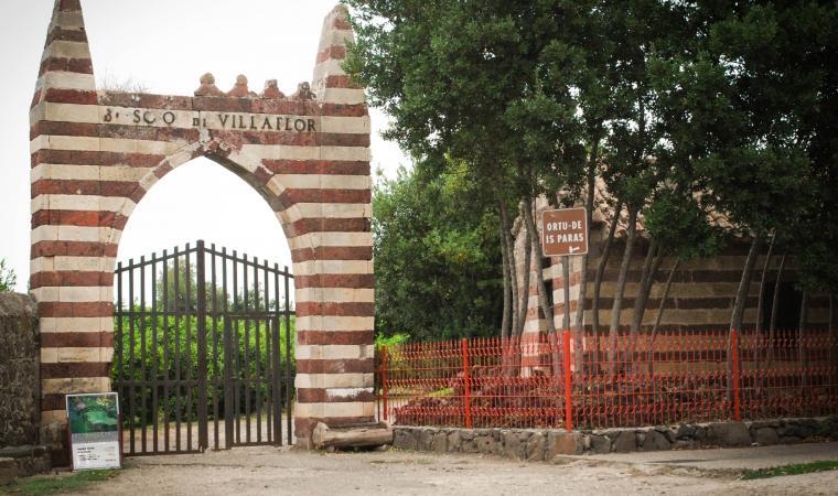 Villa Pernis Vacca, ingresso Ortu de is paras - Milis