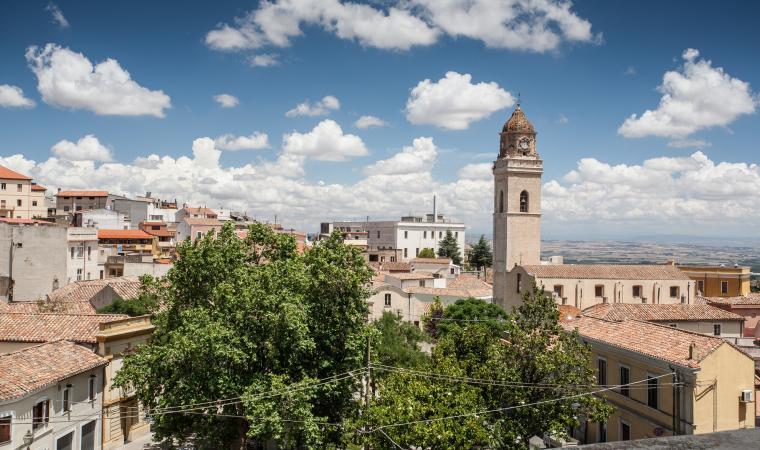 Veduta dal bastione - Villacidro