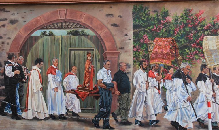 Murales di Villanova Truschedu