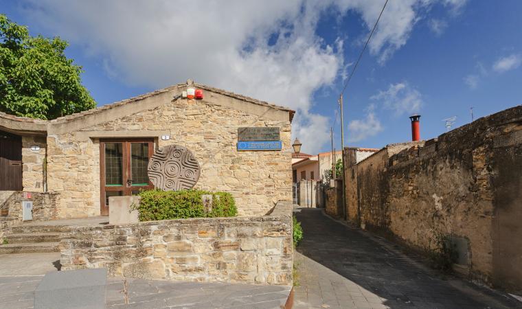 Facciata del museo - Villanovaforru