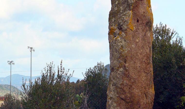 Menhir Luxia Arrabiosa - Villaperuccio