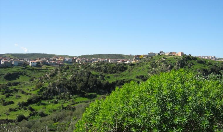 Veduta di Villasalto