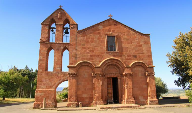 San Pietro di Zuri, facciata - Ghilarza