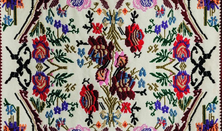 Particolare di un tappeto di Mogoro