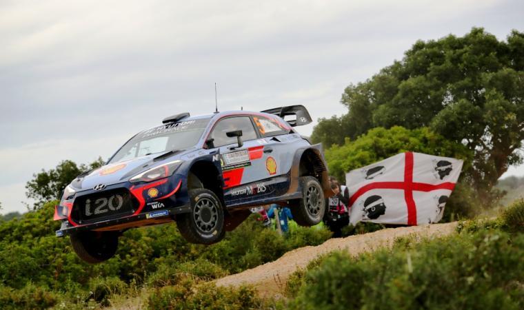 Neuville-Gilsoul, shakedown Rally Italia Sardegna 2018