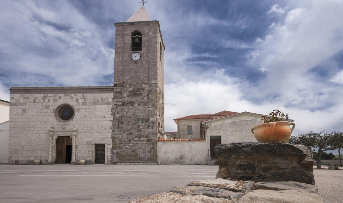 Chiesa di san Basilio Magno - Serri