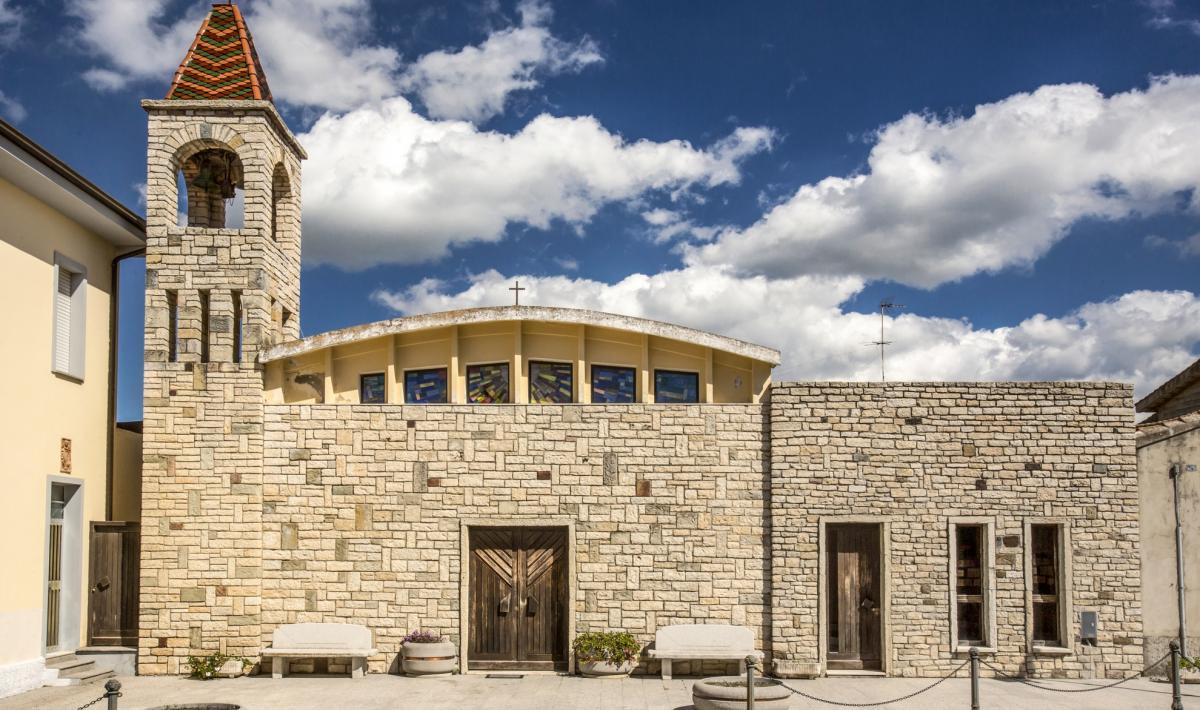 Chiesa parrocchiale di san Sebastiano - Siris