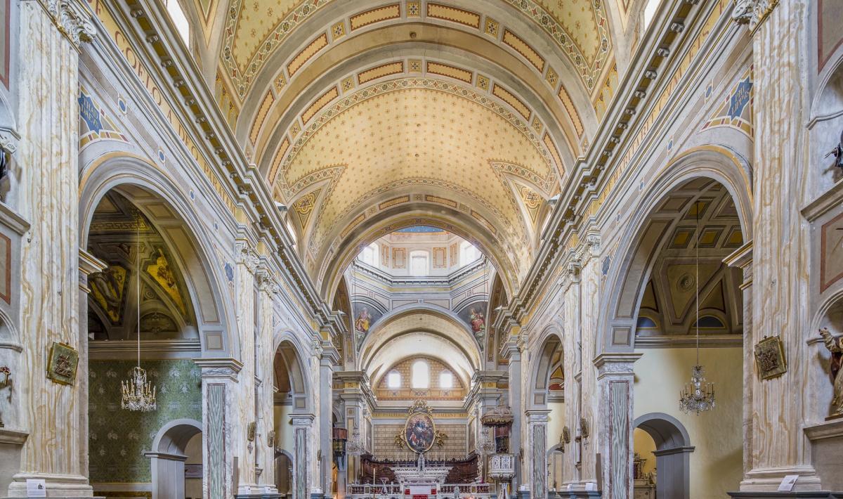 Duomo di Oristano, interno
