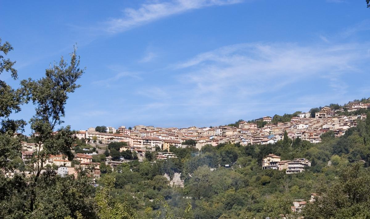 Veduta panoramica - Tonara