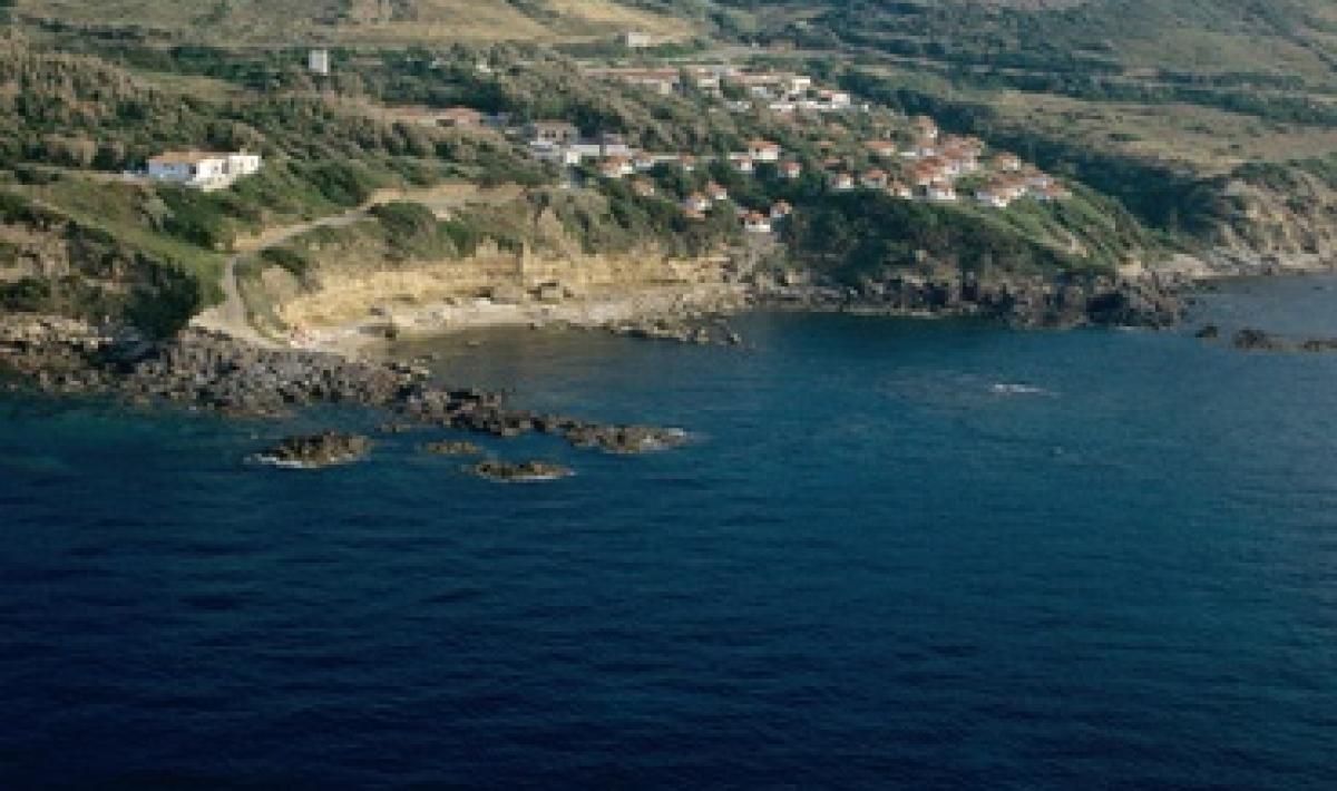 Castelsardo, veduta aerea di Punta Li Paddimi