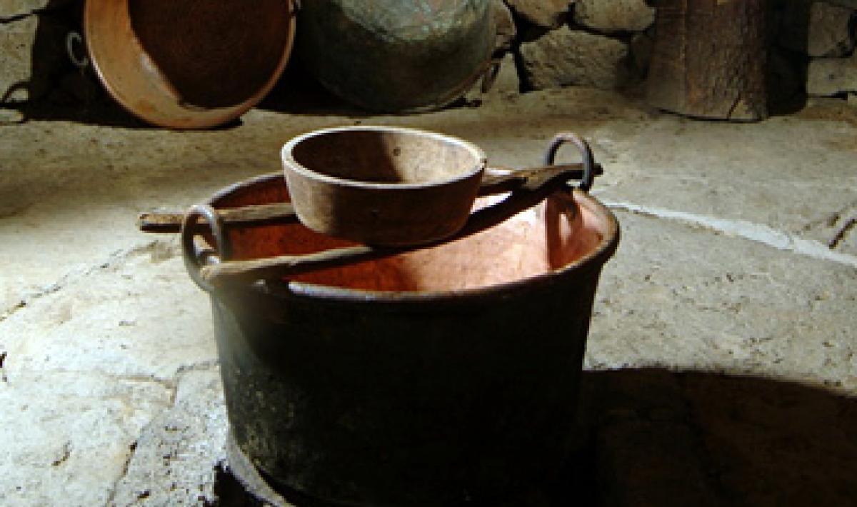 Dorgali, Museo S'abba frisca: particolare dell'interno
