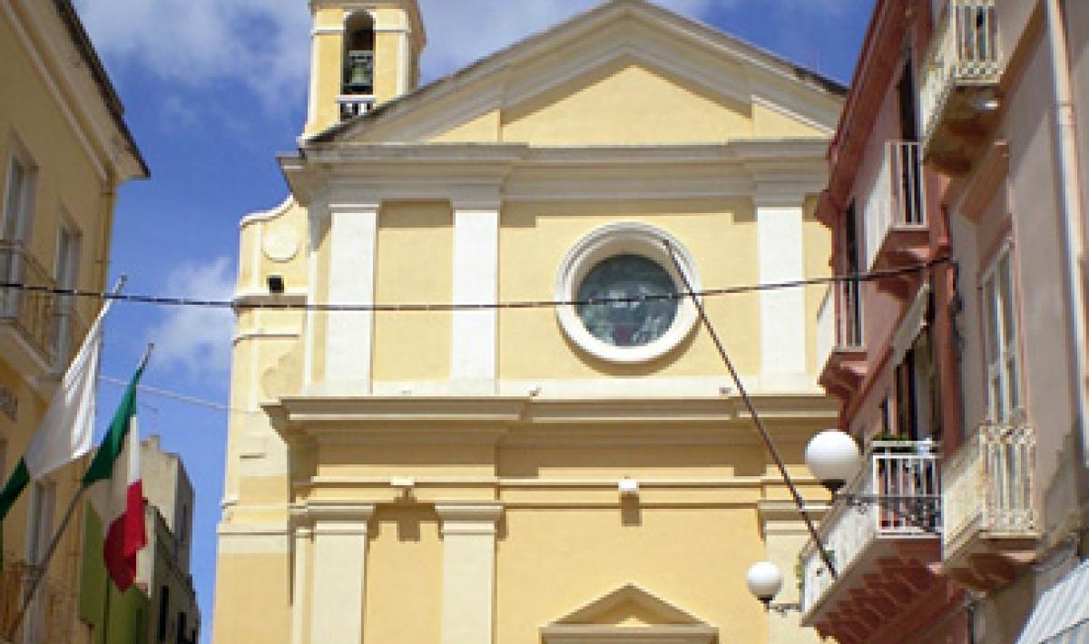 Carloforte, chiesa di San Carlo Borromeo