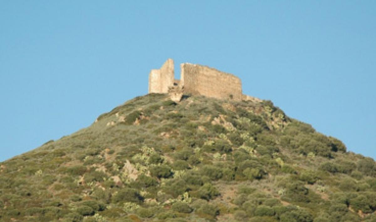 Sardara, castello di Monreale