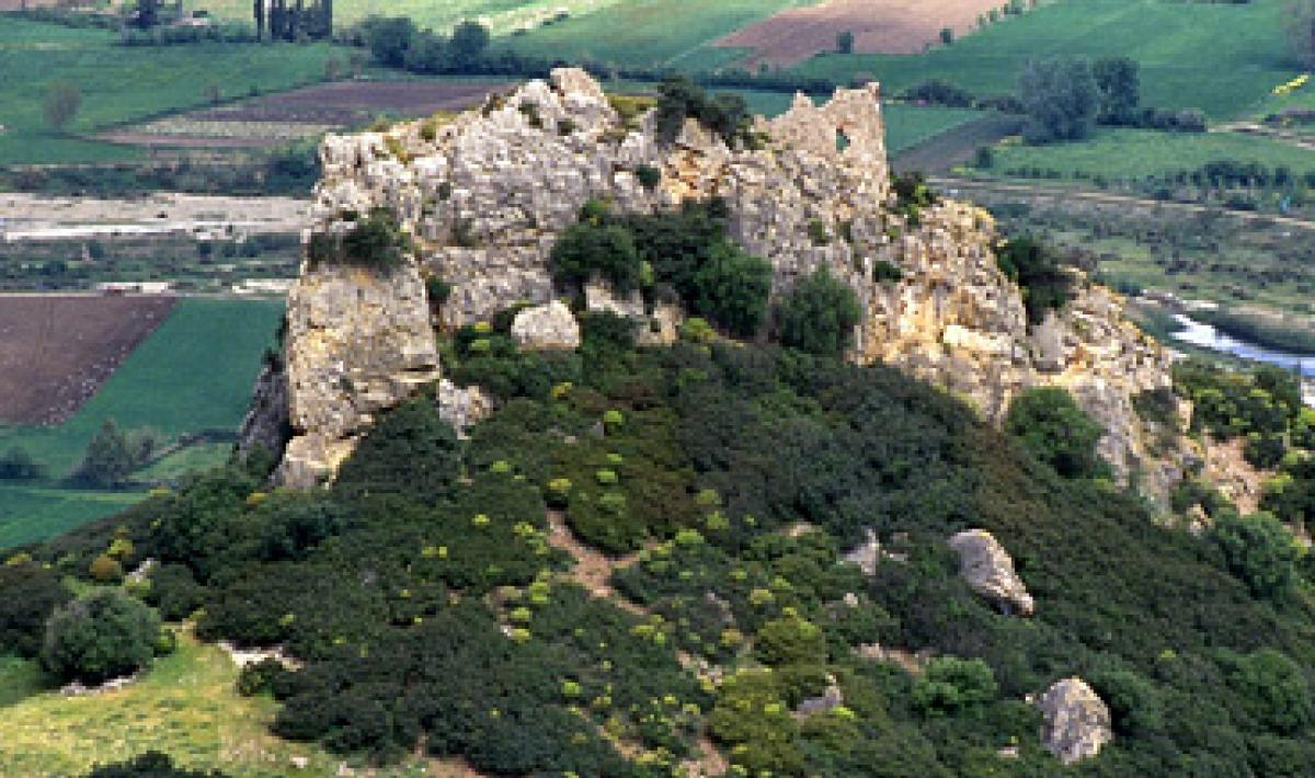 Galtellì, castello di Pontes