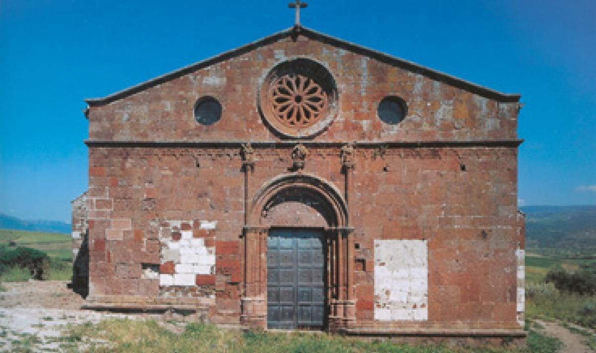Perfugas, chiesa di San Giorgio, facciata