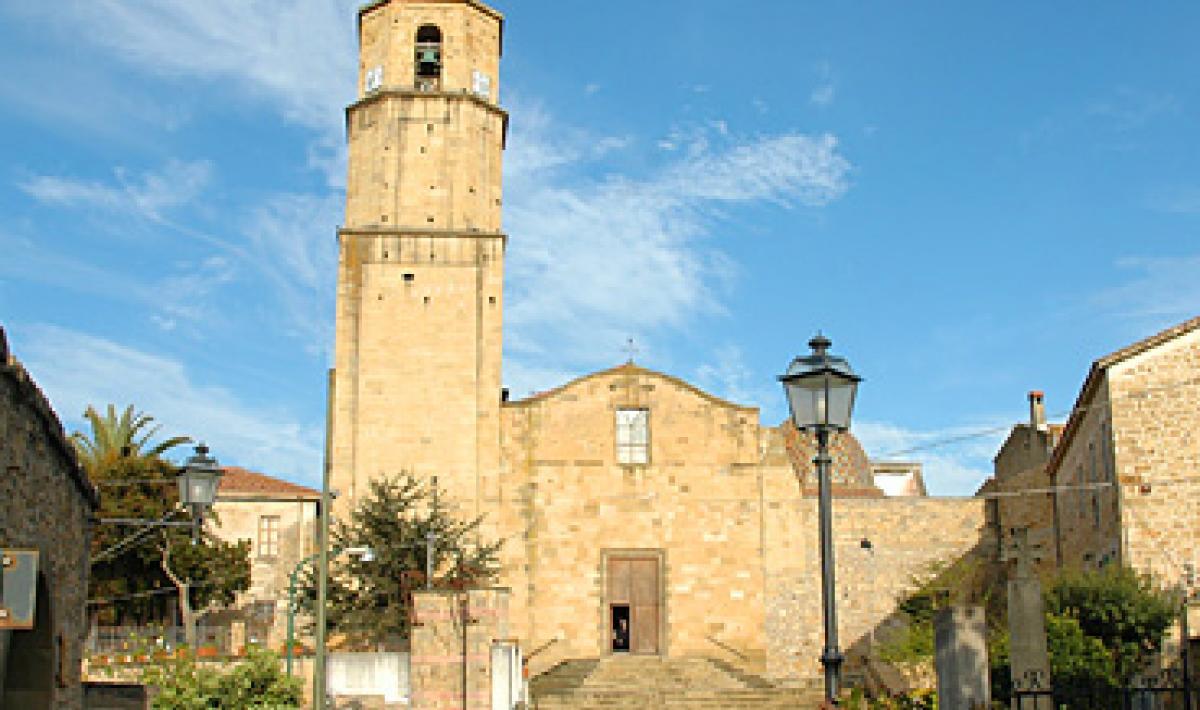 Collinas, Chiesa di San Michele Arcangelo