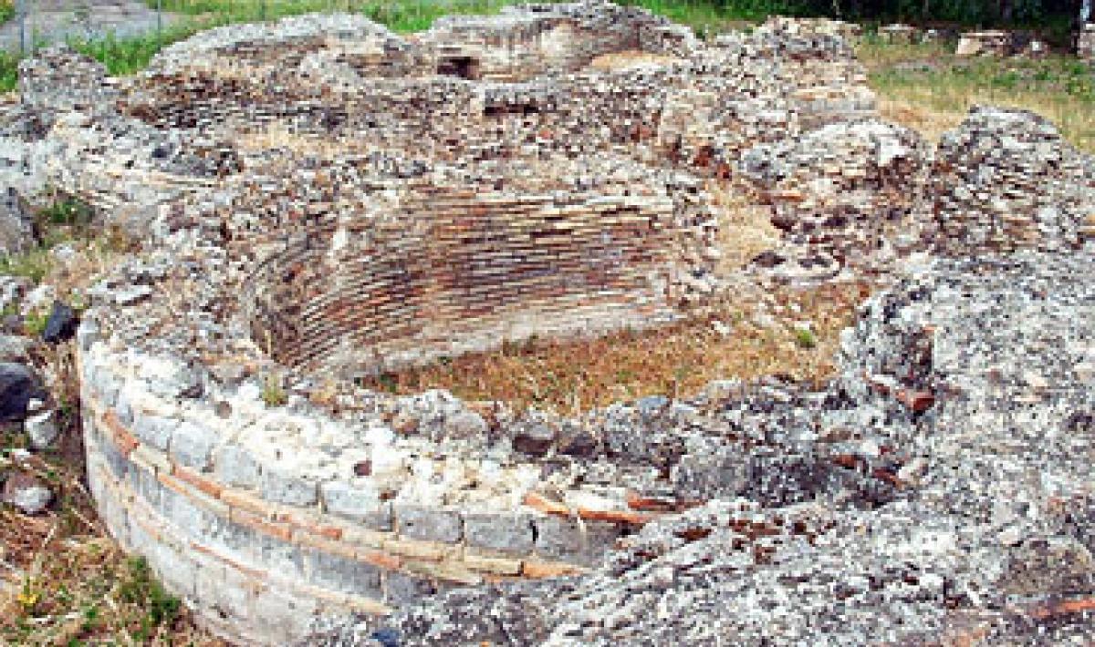 Marrubiu, praetorium di Muru de Bangiu