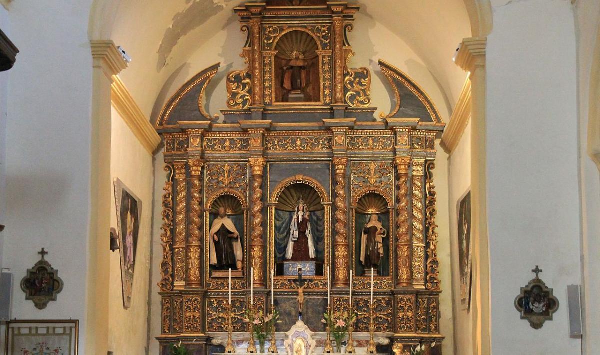 Chiesa Nostra signora del Carmelo, altare - Alghero