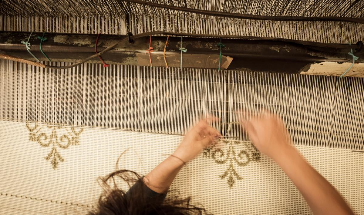 Lavorazione tappeto - Samugheo