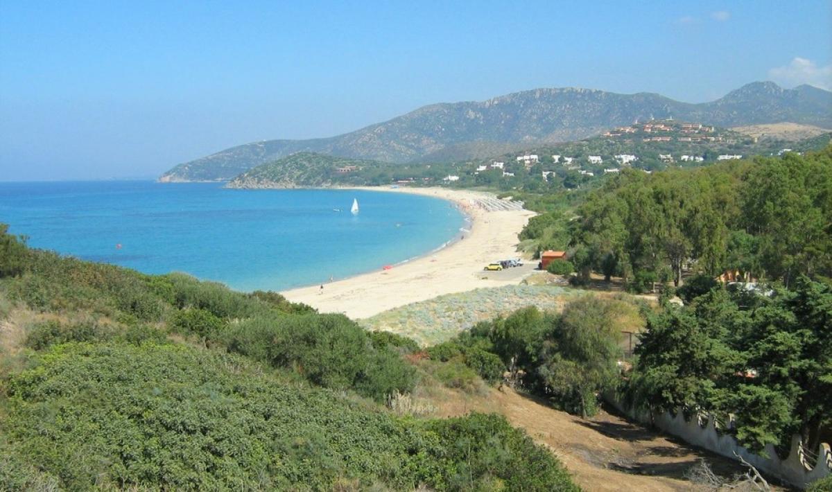 Spiaggia di Baccu Mandara - Maracalagonis