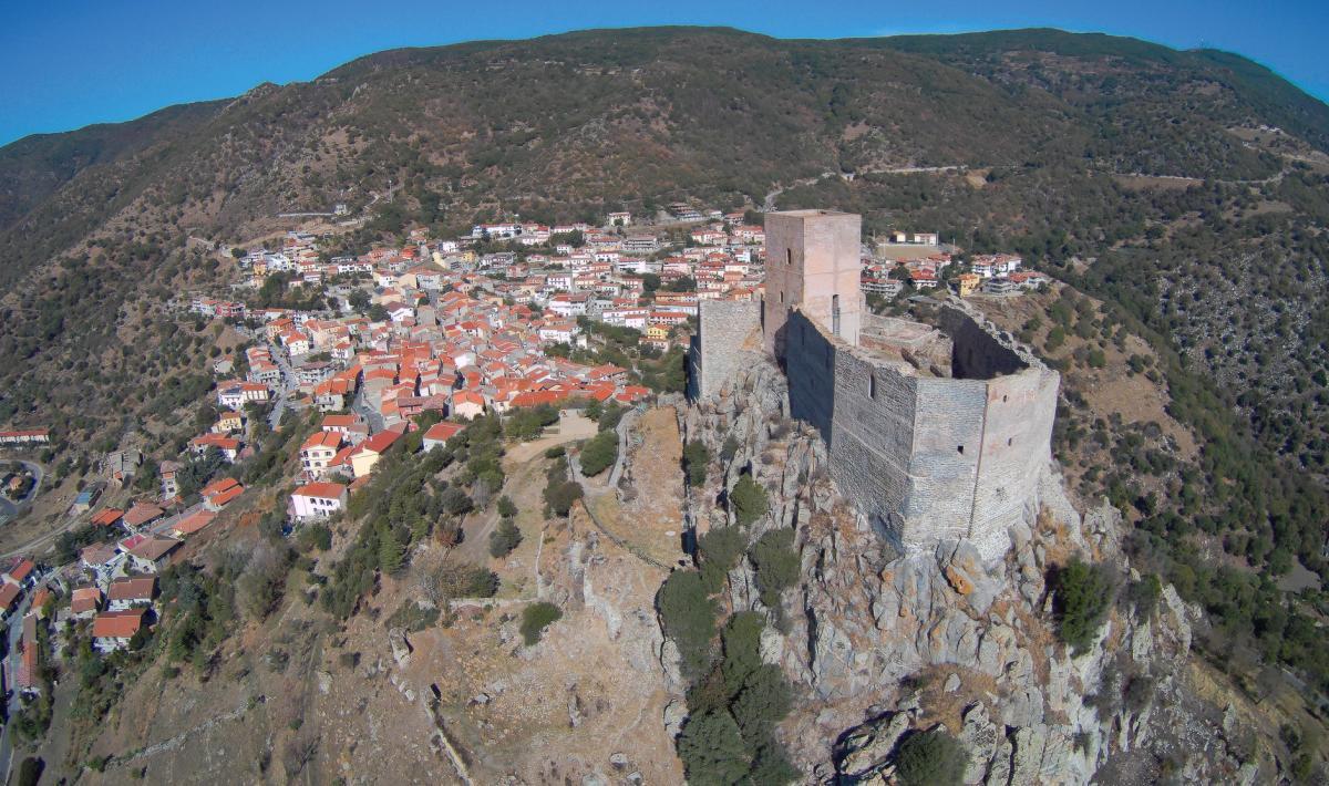 Veduta e castello di Burgos