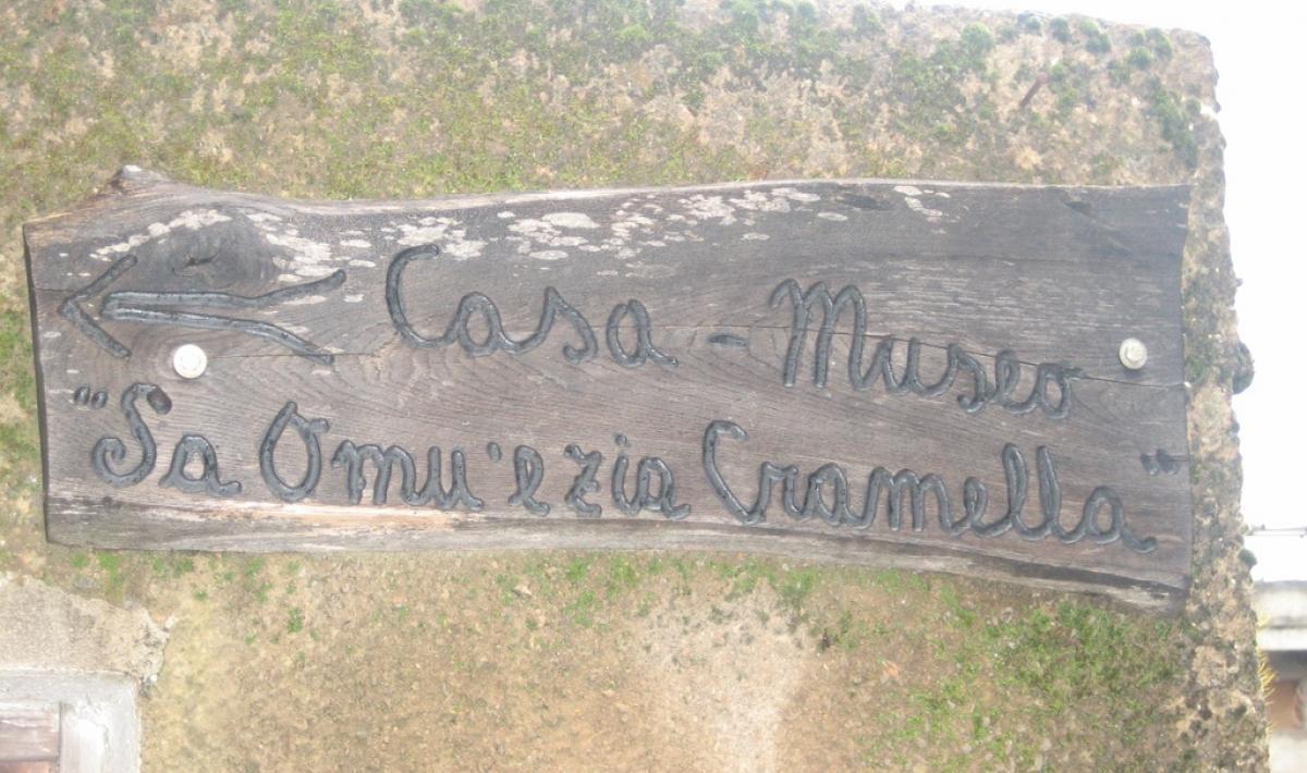 Sadali, Casa museo Sa omu 'e zia Cramella